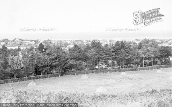 Photo of West Runton, General View c.1960