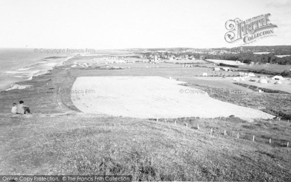 Photo of West Runton, General View From Beeston Hill c.1960