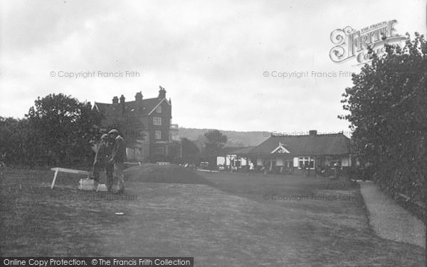 Photo of West Runton, Golf Links And Club House 1933