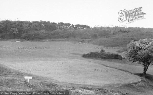 Photo of West Runton, Golf Links c.1955