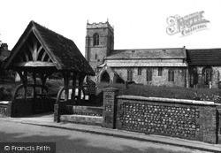 Holy Trinity Church c.1955, West Runton