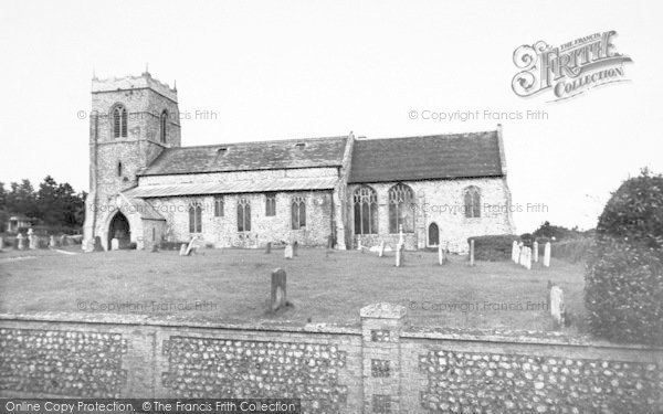 Photo of West Runton, Holy Trinity Church c.1955