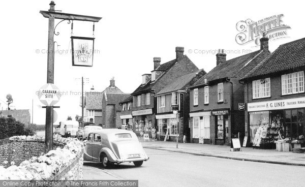 Photo of West Runton, Main Street c.1960