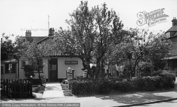 Photo of West Runton, Post Office c.1960