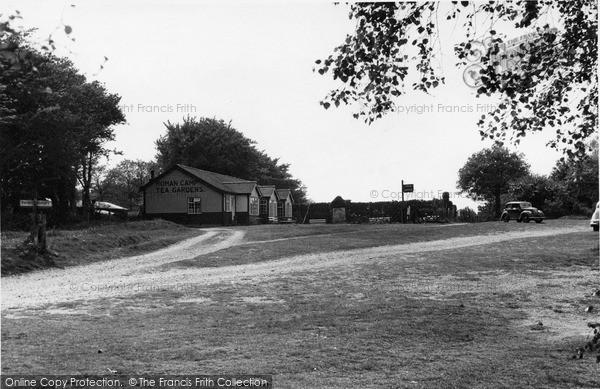 Photo of West Runton, Roman Camp Tea Rooms c1955
