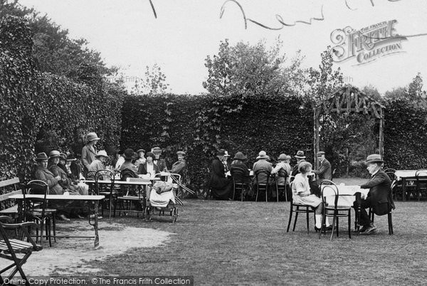 Photo of West Runton, Roman Encampment, Tea Gardens 1922