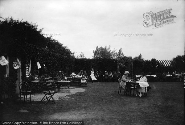 Photo of West Runton, Roman Encampment, Tea Gardens 1922