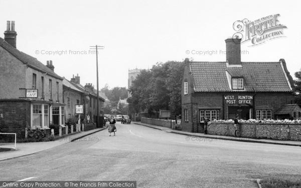 Photo of West Runton, Sheringham Road c.1955