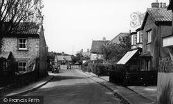 Station Road c.1955, West Runton