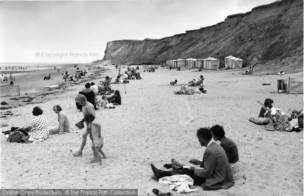 Photo of West Runton, The Beach And Cliffs 1959