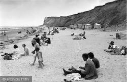 The Beach And Cliffs 1959, West Runton
