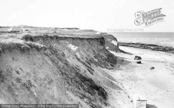 Photo of West Runton, The Beach And Cliffs c.1955