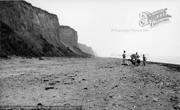 Photo of West Runton, The Beach c.1955