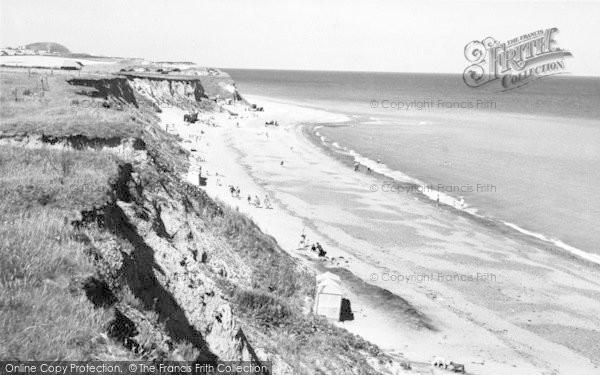 Photo of West Runton, The Beach c.1960