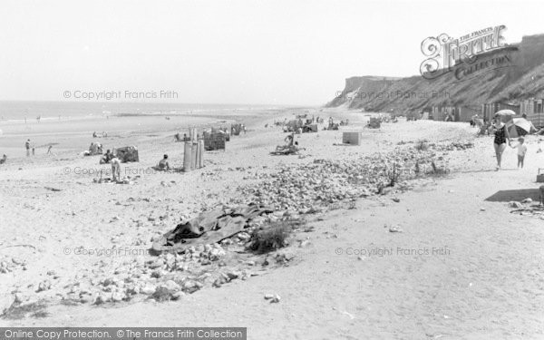 Photo of West Runton, The Beach c.1965
