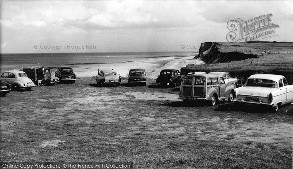 Photo of West Runton, The Beach Car Park c.1960