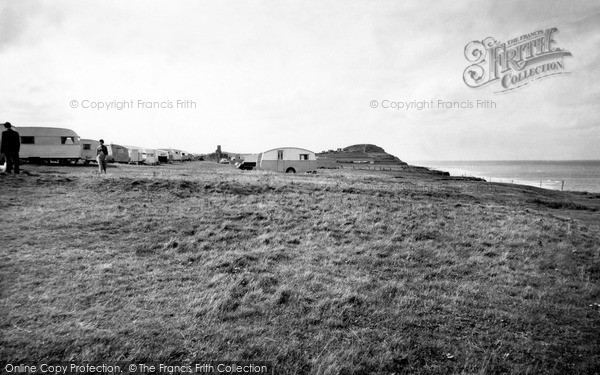 Photo of West Runton, The Caravan Site c.1955