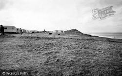 The Caravan Site c.1955, West Runton