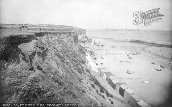 Photo of West Runton, The Cliffs And Beach 1925