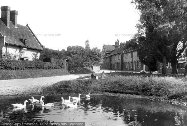 Photo of West Runton, The Common And Duck Pond 1925