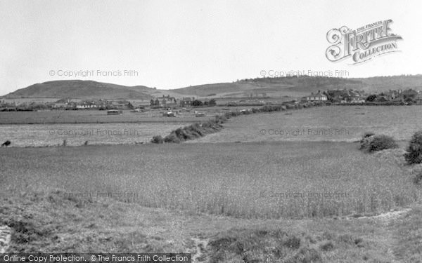 Photo of West Runton, The Golf Links From The Cliffs c.1955