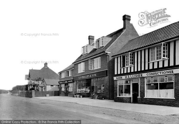 Photo of West Runton, The Shops 1923