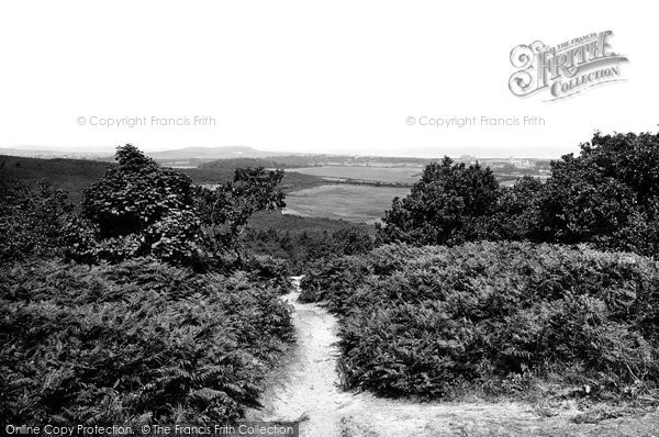 Photo of West Runton, The View From The Roman Encampment 1894