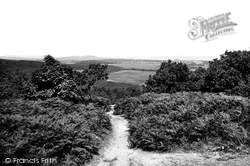 West Runton, The View From The Roman Encampment 1894