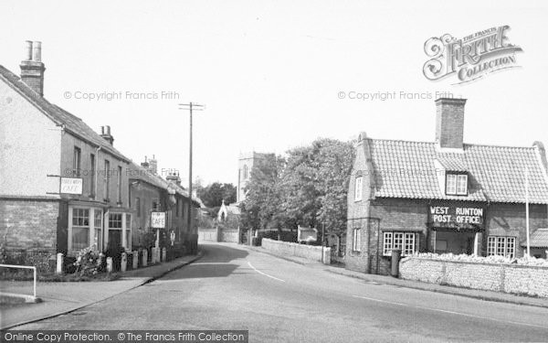 Photo of West Runton, The Village c.1955