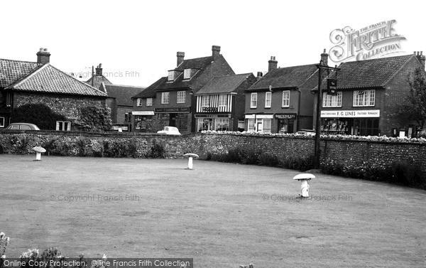 Photo of West Runton, The Village c.1955