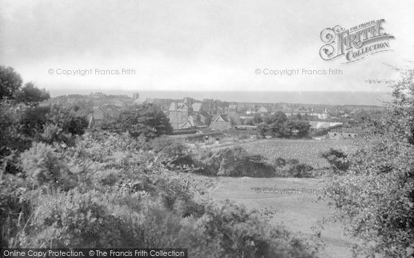 Photo of West Runton, View From Golf Links 1925