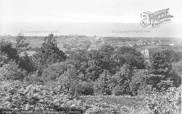 Photo of West Runton, View From Near Roman Encampment 1925