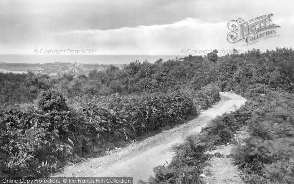 Photo of West Runton, View From Roman Encampment 1922