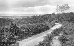 View From Roman Encampment 1922, West Runton