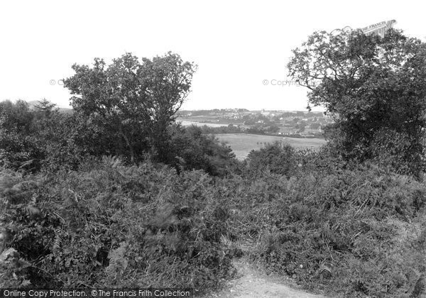 Photo of West Runton, View From The Roman Encampment 1933