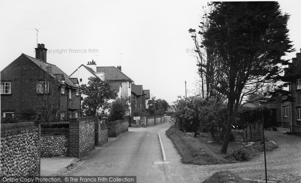 Photo of West Runton, Water Lane c.1960