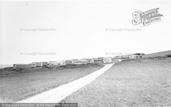 Photo of West Runton, Woodhill Caravan Site c.1960