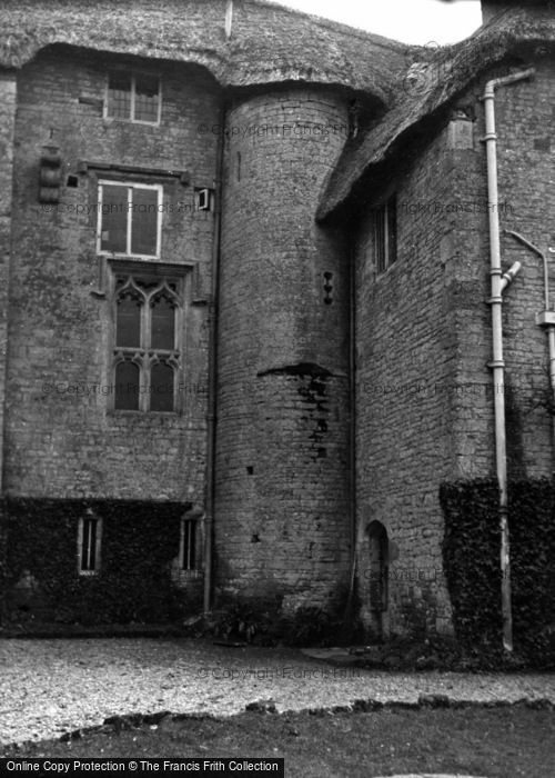 Photo of West Stafford, Woodsford Castle 1953