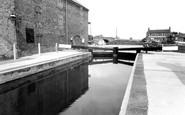 West Stockwith, the Lock c1965