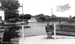 West Stockwith, The Basin 1958