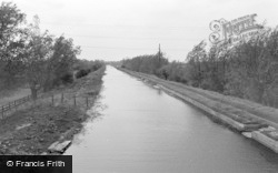 West Stockwith, The Canal 1964