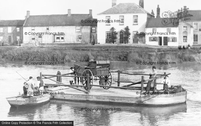 Photo of West Stockwith, The Ferry c.1900