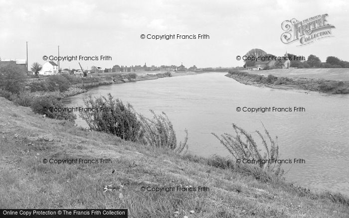 Photo of West Stockwith, The River Trent 1964