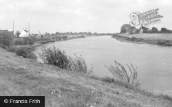 West Stockwith, The River Trent 1964