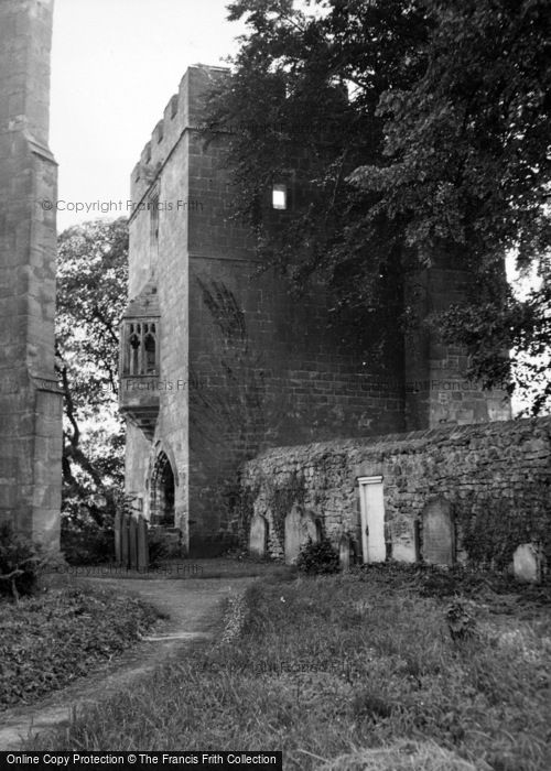 Photo of West Tanfield, The Marmion Tower 1952