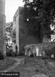 West Tanfield, The Marmion Tower 1952