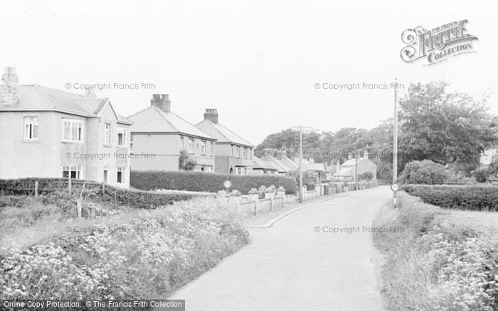 Photo of West Thirston, c.1955