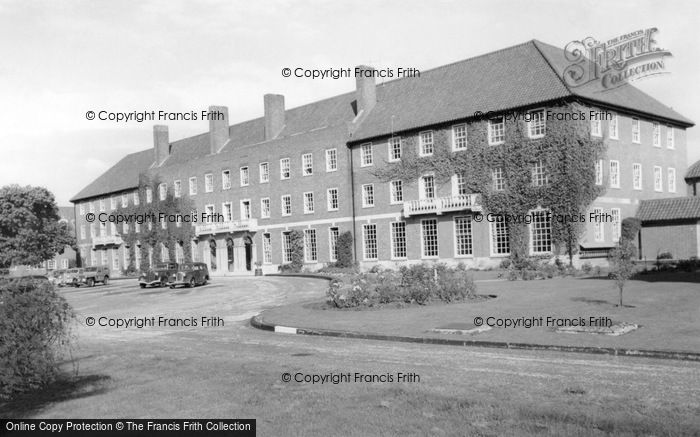 Photo of West Thorney, Officers Mess, Thorney Island c.1955