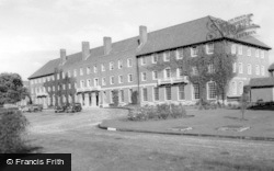 West Thorney, Officers Mess, Thorney Island c.1955