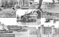 Composite c.1960, West Wickham
